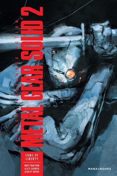 Metal Gear Solid 2 : Sons of Liberty - numérique - 9791035500573 - 12,99 €