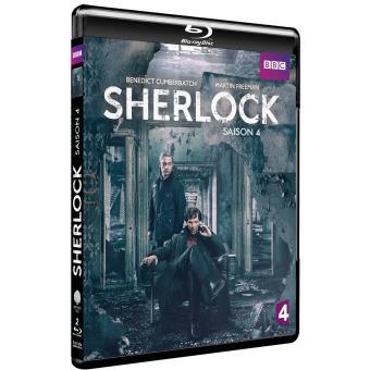 SherlockSherlock Saison 4 Blu-ray