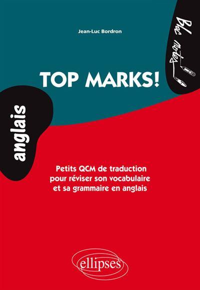Top marks petits QCM de traduction pour réviser son vocabulaire et sa grammaire en anglais niveau 2