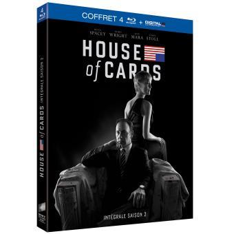 House of cardsHouse of cards Coffret intégral de la Saison 2 - Blu-Ray