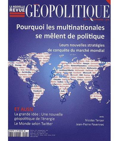 La nouvelle revue geopolitique 117