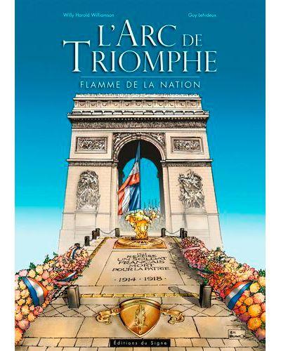 L'Arc de Triomphe - flamme de la nation