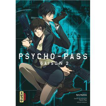 Psycho Pass Saison 2 Tome 1 Psycho Pass Saru Hashino Broché