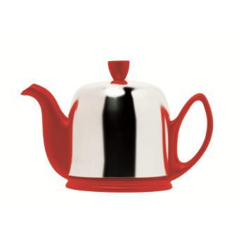 th i re 4 tasses guy degrenne salam rouge achat prix fnac. Black Bedroom Furniture Sets. Home Design Ideas