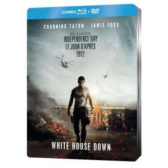 White House Down Combo Blu-Ray + DVD Edition Steelbook