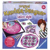 Ravensburger - Mandala Designer - Tattoo-Style 2 en 1