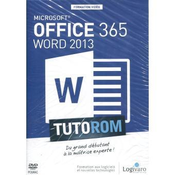 tutorom microsoft office 365 word 2013 textes lus alice cherbonnel achat livre fnac. Black Bedroom Furniture Sets. Home Design Ideas
