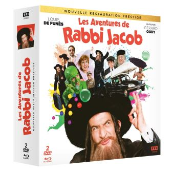Les Aventures de Rabbi Jacob Edition Collector Combo Blu-ray DVD