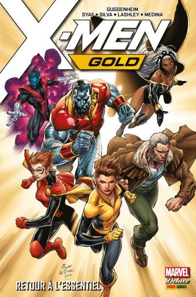 X-Men Gold (2017) T01 - Retour à l'essentiel - 9782809486292 - 21,99 €