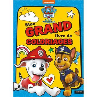 Pat Patrouille Pat Patrouille Mon Grand Livre De Coloriages Ned Collectif Broche Achat Livre Fnac