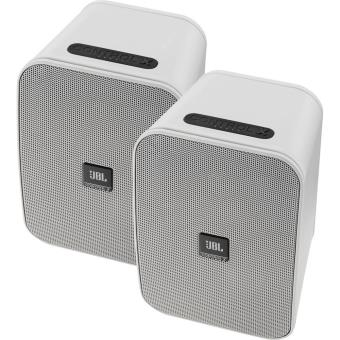 paire d 39 enceintes st r o jbl control x bluetooth blanc mini enceinte achat prix fnac. Black Bedroom Furniture Sets. Home Design Ideas