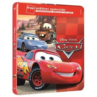 CarsCars Steelbook Edition spéciale Fnac Blu-ray