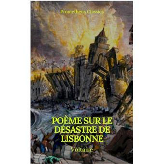 Poème Sur Le Désastre De Lisbonne Prometheus Classics