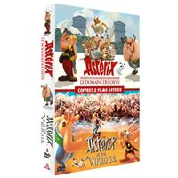 Coffret Asterix 2 films DVD