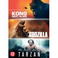 Godzilla / Kong/ Tarzan-BIL