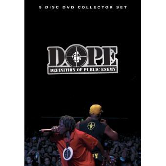 The definition of Public Enemy - D. O. P. E - 5 DVD