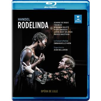 HANDEL RODELINDA/BLURAY