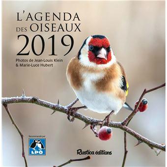 L'agenda 2019 des oiseaux