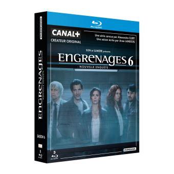 EngrenagesEngrenages Saison 6 Blu-ray