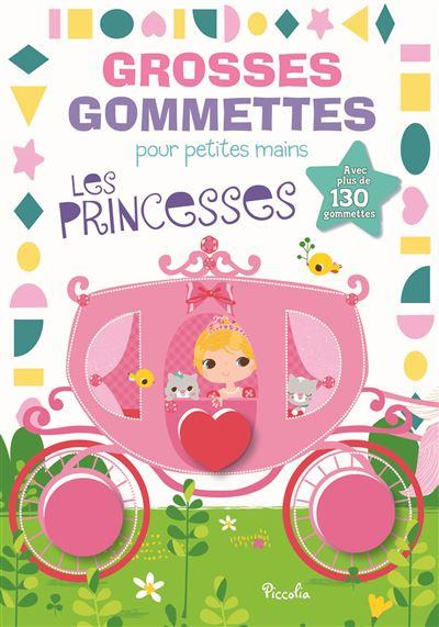Grosses gommettes pour petites mains Les princesses