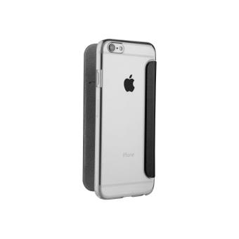 MUVIT BOOKLET CASE IPHONE 7 CLEAR BLACK