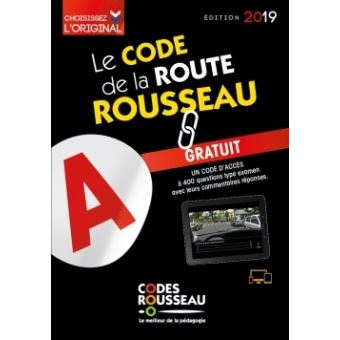 code rousseau de la route b 2019 broch collectif achat livre fnac. Black Bedroom Furniture Sets. Home Design Ideas