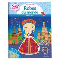 Les petites robes du monde, Stickers