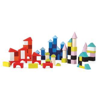 Kubix janod 100 cubes en bois autre jeu de construction achat prix fnac for Construction cube bois