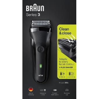 Braun Series 3 300S Men's Shavers - Black