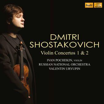 Concertos pour violon numéro 1 et 2
