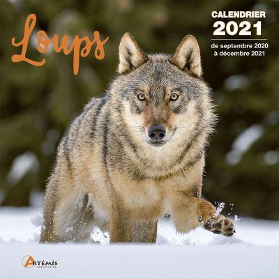 Calendrier Loups 2021   broché   Collectif   Achat Livre | fnac