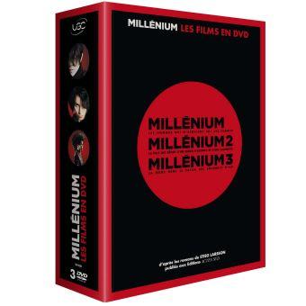 MilléniumCoffret Millénium La Trilogie DVD