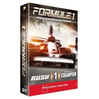 Coffret Rush One Weekend of a champion Edition Fnac DVD