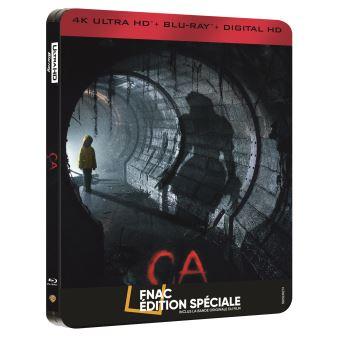 ça - 2017 Ca-Edition-speciale-Fnac-Steelbook-Blu-ray-4K-2D