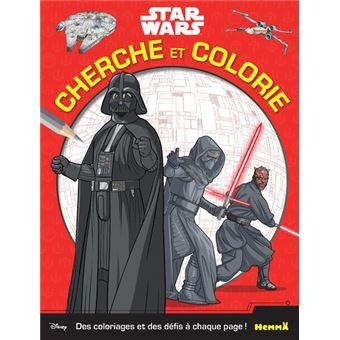 Star WarsCherche et colorie