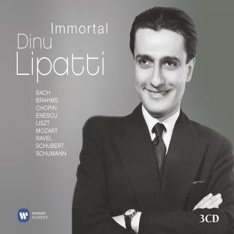 IMMORTAL DINU LIPATTI/3CD