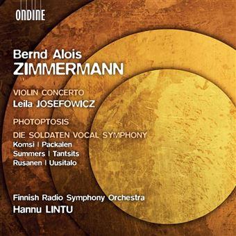 Concerto pour violon/photoptosis/die soldaten