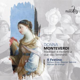 Donna: Madrigali E Mottetti A Due Voci Femminili