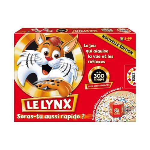Jeu de mémoire Asmodée Le Lynx