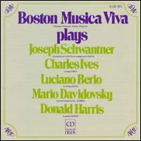 Plays schwantner/ives/berio/and