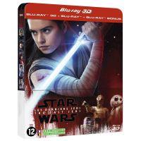 Star Wars : Les Derniers Jedi Steelbook Blu-ray 3D + 2D