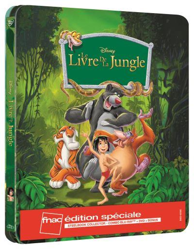 Vos Commandes et Achats [DVD/BR] - Page 4 Le-Livre-de-la-Jungle-Edition-speciale-Fnac-Steelbook-Blu-ray-DVD