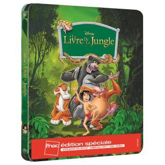 Le Livre de la Jungle Steelbook Edition spéciale Fnac Blu-ray