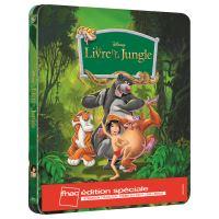 Le Livre de la Jungle Edition spéciale Fnac Steelbook Blu-ray + DVD