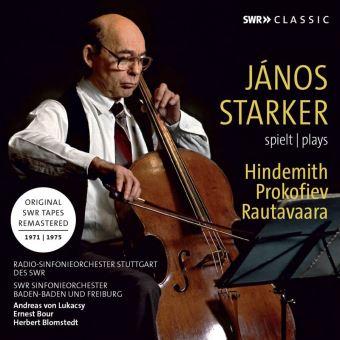 Janos Starker joue Hindemith, Prokofiev et Rautavaara
