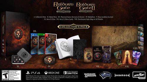 Baldur's Gate 1 et 2 Enhanced Edition Collector Nintendo Switch