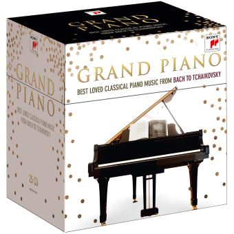 Grand Piano : Best Loved Classical Piano Music From Bach To Tchaïkovski Coffret 25 CD Edition limitée