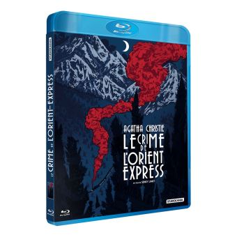 Le Crime de l'Orient Express Exclusivité Fnac Blu-ray