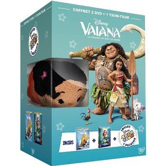 VaianaCoffret Vaiana, la légende du bout du monde La petite sirène DVD
