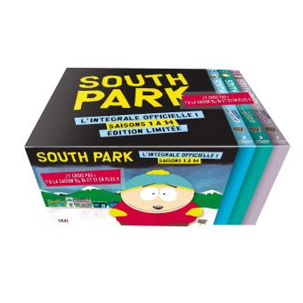 South ParkSouth Park Saisons 1 à 17 Coffret DVD